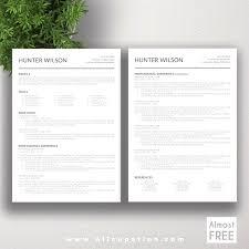 Free Modern Resume Templates Free Free Modern Resume Templates For Word Free Modern Resume 69