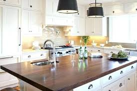 white cabinets with wood countertops rustic vintage off light colored wooden and for a welcoming feel