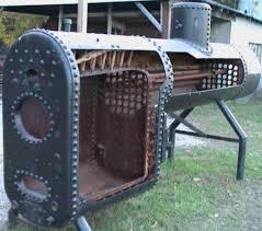 anatomy of antique steam boiler construction