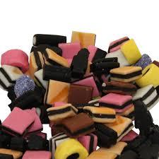 davis lewis orchards haribo licorice allsorts candy