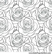Flower Coloring Pages Printable For Adults Interactive Christmas