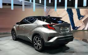 Toyota C-HR Crossover Revealed with Prius Power » AutoGuide.com News