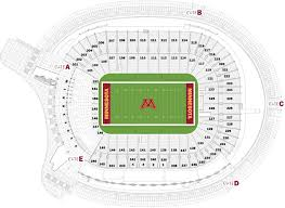 18 Seating Charts University Of Minnesota Athletics Un