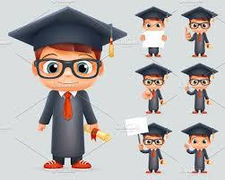 graduation cap illustrations creative market graduation cap illustrations