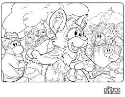 Small Picture penguin puffle coloring pages