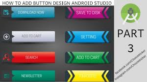 How To Design A Button In Android Custom Button In Android Studio Fastest Way To Design