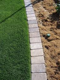 garden edgers. Paver Mow Strip For Garden Edging. So Tired Of Having To Rely On String Trimmers Edgers