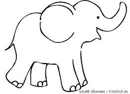 Cartoon Elephant Coloring Pages To Free Jokingartcom Cartoon