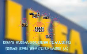 ikea s global sourcing challenge indian rugs and child labo by lee chak hing angel on prezi