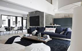 concrete black walls black carpet used in black and white contemporary interior design black white interior design