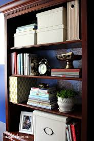 paint for office. Lighten Up A Dark Bookcase -- Without Paint! {Home Office Makeover} Paint For