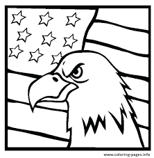 coloring page american flag coloring page flag coloring pages of flag printable flag coloring page eagle