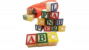 30 alphabet blocks with letters colors wooden abc toddler preschool building toy by skoolzy you