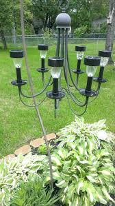 solar light chandelier solar light chandelier a chandelier from a thrift into a outdoor solar solar light chandelier