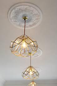glass kitchen lighting. DIY Brass And Glass Kitchen Pendants - Swoon Worthy Lighting