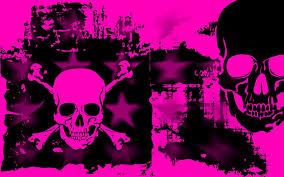 pink skull wallpapers cute skull wallpapers