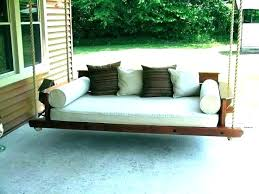 build an outdoor daybed diy outdoor daybed swing housetohomeco diy outdoor