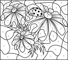 This artist on flickr has a number of free coloring pages they made for anyone to enjoy. Free Printable Paint By Numbers For Adults Coloring Home