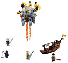 LEGO Ninjago Movie Flying Jelly Sub 70610 (341 Pieces) - Walmart.com -  Walmart.com