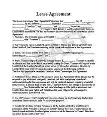 Basic Lease Agreement The Advantages You Get By Using A Sample Lease Agreement