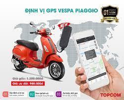 Định vị GPS Vespa Piaggio- Chống trộm tuyệt đối, nhỏ gọn, an toàn