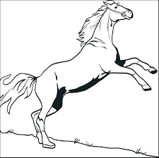 Coloring Picture Of Horse Ryanbreauxco