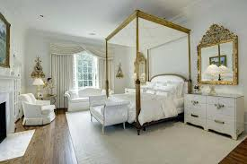 french provincial bedroom furniture white theme french style bedroom with four poster bed in gold with