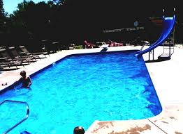 inground pools with diving board and slide. Pool Slide Swimming Slides Waterfalls Diving Boards | HomeLK.com Inground Pools With Board And