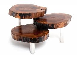 Wood Slice Coffee Table Fresh Wood Tables At The Galleria