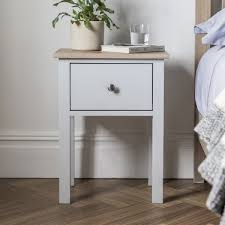 contemporary bedside furniture. gallery hudson modern banbury bedside cabinet in scandi style grey u0026 oak contemporary furniture