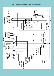 refrigeration air supplies administration astr commercial single phase wiring diagram