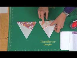 How to Cut Pre-Pieced 60 Degree Triangles from Strip Sets | Quilty ... & How to Cut Pre-Pieced 60 Degree Triangles from Strip Sets Adamdwight.com