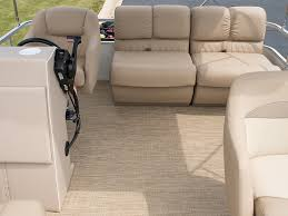 infinity luxury woven vinyl flooring installed on the floor of the project pontoon