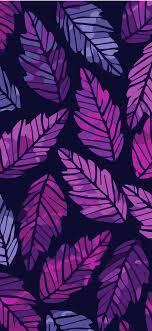 Wallpaper phone - Aesthetic pattern leaf