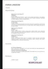 Resume Format 2017 Best 6113 Resume Format 24 Resume Format Free Word Templates O Regarding