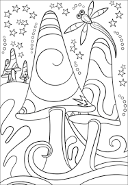 Small Picture Psychedelic Art coloring pages Free Coloring Pages