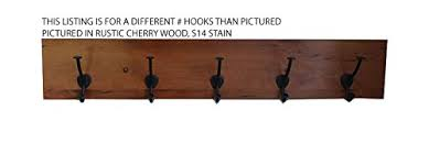 Solid Oak Coat Rack Buy Rustic Cherry Wood Coat Rack Amish Made Solid Wood Custom 92