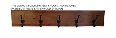 Solid Oak Coat Rack Buy Rustic Cherry Wood Coat Rack Amish Made Solid Wood Custom 92