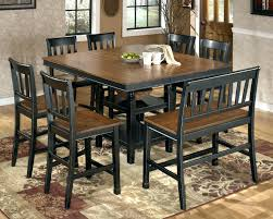 dining table seats 8 square patio set kitchen chairs seat rustic with bench round 10