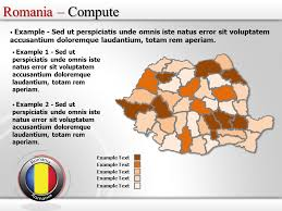 Free Interactive Maps For Powerpoint Romania Map Powerpoint Ppt Template Interactive Romania Map