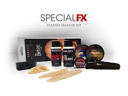 plus you ll receive a special fx starter kit with your makeup course which includes sfx makeup s prosthetics and tools