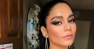 vanessa hudgens 80s eye makeup is your gno inspo