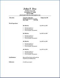Resumes Outline Basic Resume Outline Sample Photos In 2019 Job Resume