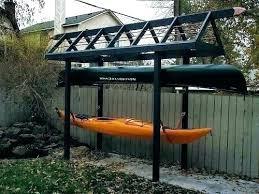 kayak storage rack diy kayak stands outdoor build kayak storage rack kayak storage rack plans pvc