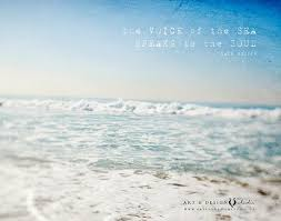 Quotes About Ocean Mesmerizing Inspirational Beach Art Ocean Quotes Ocean Photograph Etsy