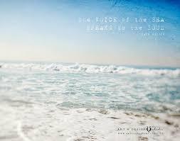 Quotes About Ocean Mesmerizing Inspirational Beach Art Ocean Quotes Ocean Photograph Etsy
