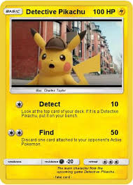 Pokémon Detective Pikachu 1 1 Detect My Pokemon Card
