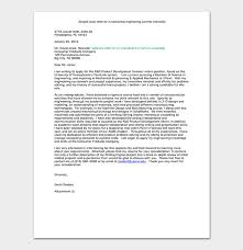 Internship Request Letter How To Write With Format