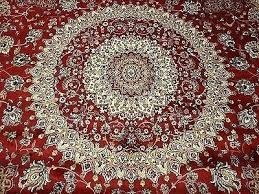 large silk rugs 8 round red rug circle carpet ft 8x8 8 x area rugs round