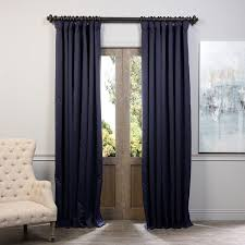 exclusive fabrics extra wide thermal blackout 108 inch curtain panel